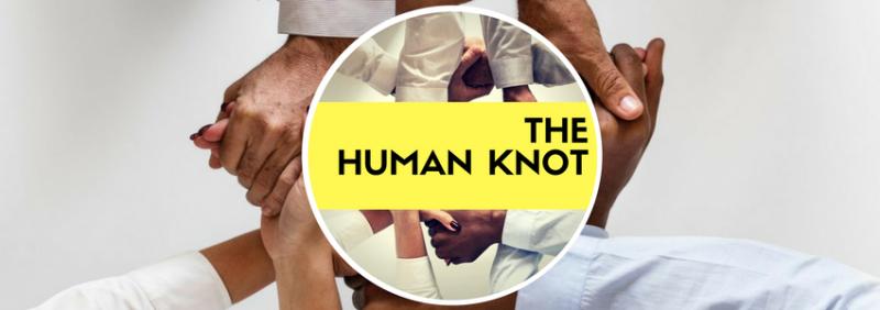 team building human knot