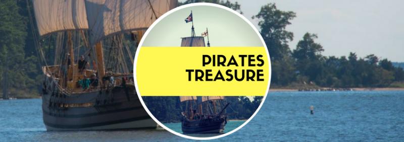 Team building pirates treasure