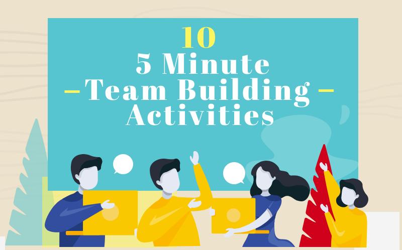five minute team building activities